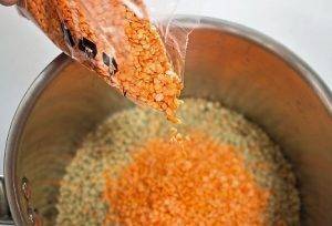 Чечевичный суп с томатами - 0