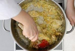 Чахохбили с курицей и картофелем - 2