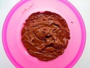 Полосатые блинчики с шоколадно-ореховой начинкой - 1