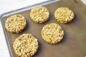 Овсяное печенье с кунжутом - 2