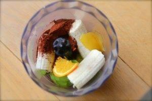 Шоколадный мусс из банана и авокадо - 1