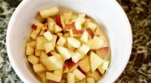 Оладьи с яблочным припеком и корицей - 2