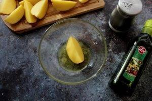 Картофель в кунжутной шубке - 1