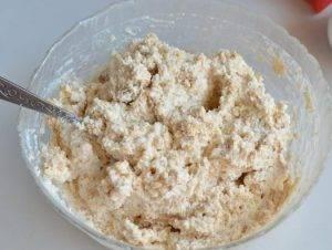 Пасха из печенья и творога - 1