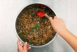 Китайский холодный суп из баклажанов - 2