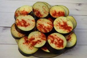 Овощная закуска с баклажаном и помидором - 1