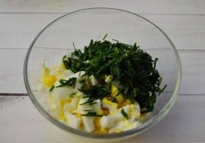 Диетические зразы с зеленым луком и яйцом - 1