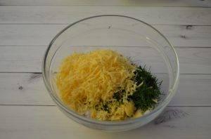 Вафли с сыром и зеленью - 1