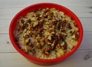 Яблочный кекс с грецкими орехами - 2