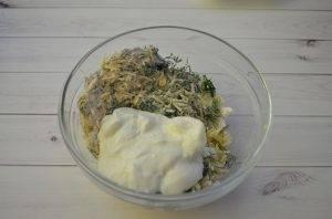 Вафли с сыром и зеленью - 2