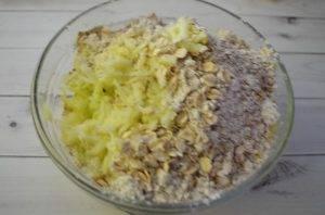 Яблочный кекс с грецкими орехами - 0