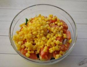 Салат с кукурузой и брокколи - 2