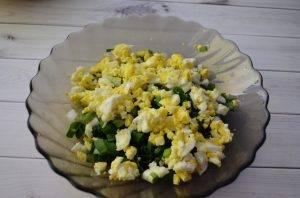 Пирог с яйцом и зеленым луком - 2