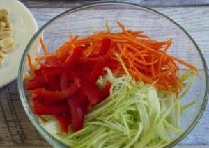 Морковно-кабачковая паста - 0