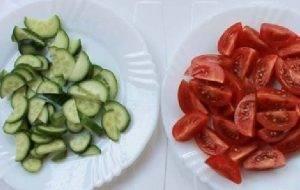 Салат из зеленой гречки - 0