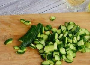Витаминный салат из свежих овощей - 1