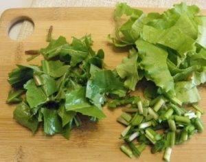 Салат из одуванчиков - 1