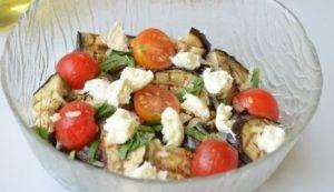 Сицилийский салат с баклажанами - 2