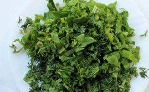 Салат из зеленой гречки - 2