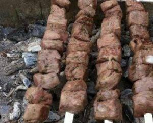 Шашлык из телятины по-азербайджански - 2