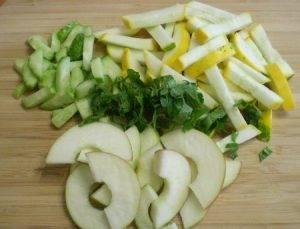 Салат из сырых кабачков - 0