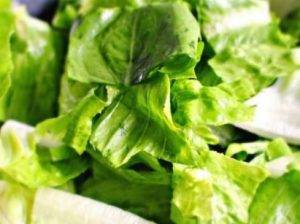 Садовый салат с арахисом - 1