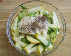 Салат из сырых кабачков - 1