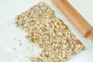 Салат с баклажанами и грецкими орехами - 1