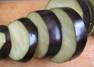 Баклажаны с салом на мангале - 0