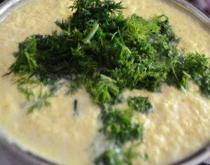 Домашний чесночный сыр - 1