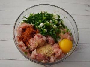 Мясные шарики в йогуртовом соусе - 0