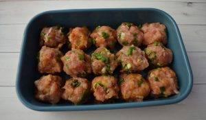 Мясные шарики в йогуртовом соусе - 1