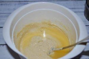 Творожные вафли с соком апельсина - 1