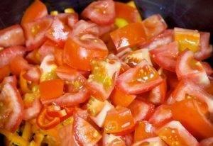 Овощной салат с авокадо - 1