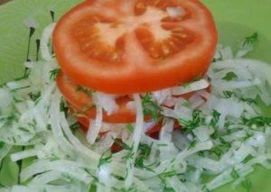 Салат к узбекскому плову - 2