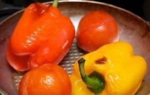 Салат из запеченных перцев - 0