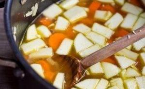 Суп-пюре с яблоками и морковью - 0