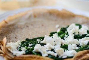 Блинчики со шпинатом и сыром - 1