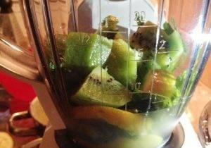 Жиросжигающий зеленый коктейль - 1