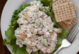 Диетический салат с индейкой - 1