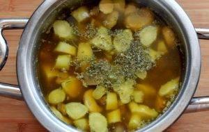 Суп-пюре с цветной капустой и шампиньонами - 2