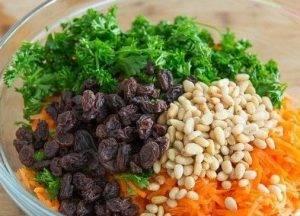 Салат из моркови и изюма - 2