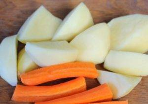 Овощной суп-пюре с брынзой - 0