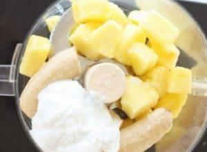 Ананасовое мороженое - 0