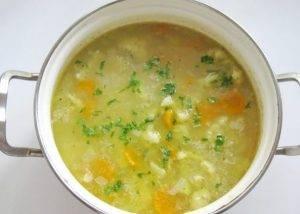 Овсяный суп с цветной капустой - 3