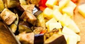 Овощной суп с баклажанами - 1