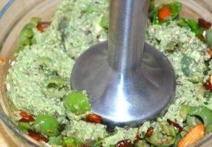 Оливково-ореховая паста - 1