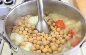 Суп-пюре из нута и цветной капусты - 2