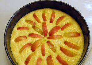 Тыквенный пирог с яблоками - 2