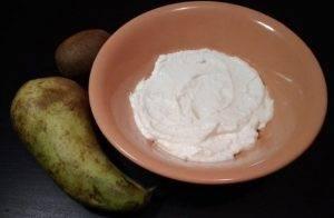 Десерт из творога и фруктов - 1